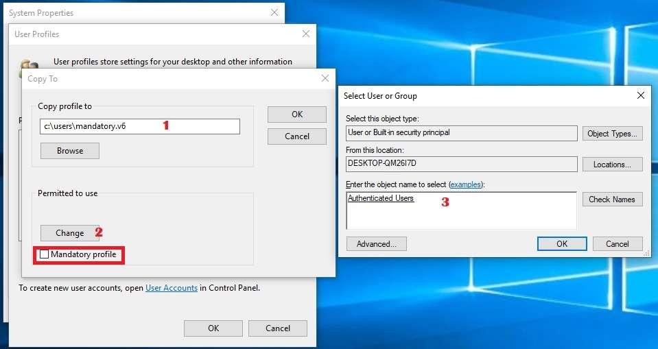 Horizon View 7 – Creating a Desktop Template